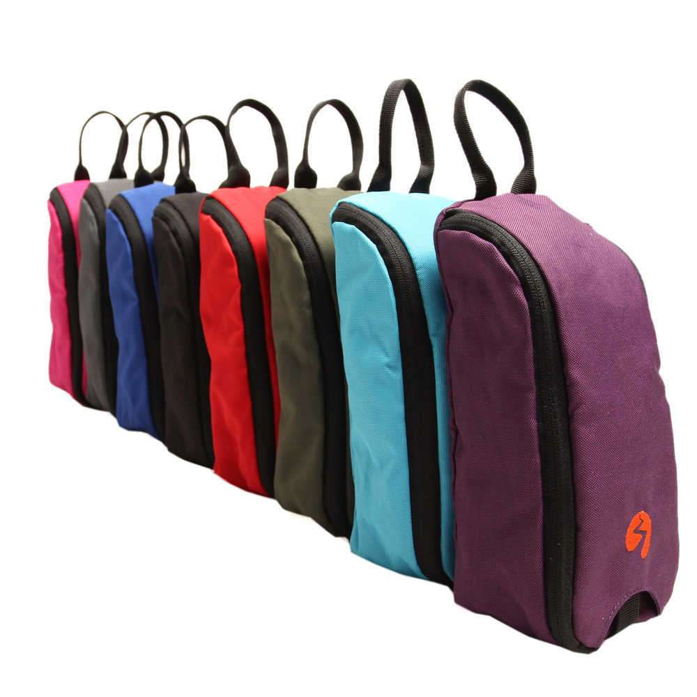 Group Photo of toiletries bags in various colours