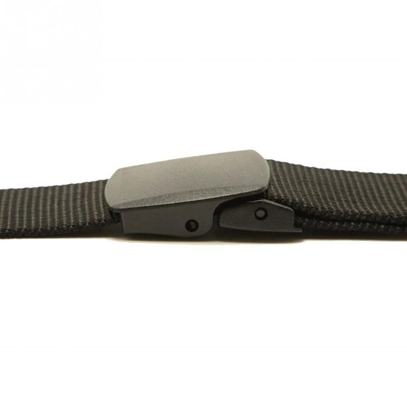 Close Up photo of closed Camlock buckle belt