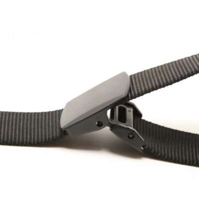 Close Up photo of open Camlock buckle belt